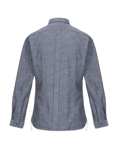 Фото 2 - Pубашка от TINTORIA MATTEI 954 темно-синего цвета