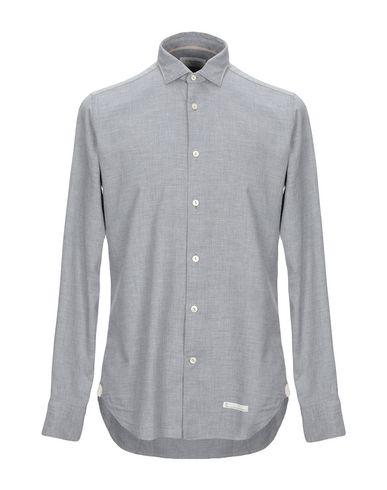 Купить Pубашка от TINTORIA MATTEI 954 серого цвета