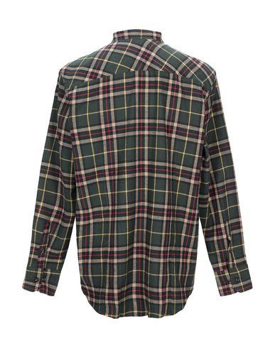 Фото 2 - Pубашка от WHITE 5 MILANO цвет зеленый-милитари
