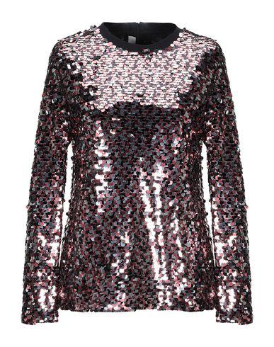 Фото - Женскую блузку McQ Alexander McQueen пастельно-розового цвета