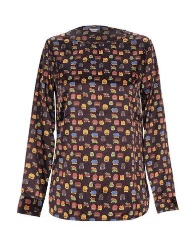 Фото - Женскую блузку CAMICETTASNOB цвет баклажанный