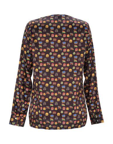 Фото 2 - Женскую блузку CAMICETTASNOB цвет баклажанный