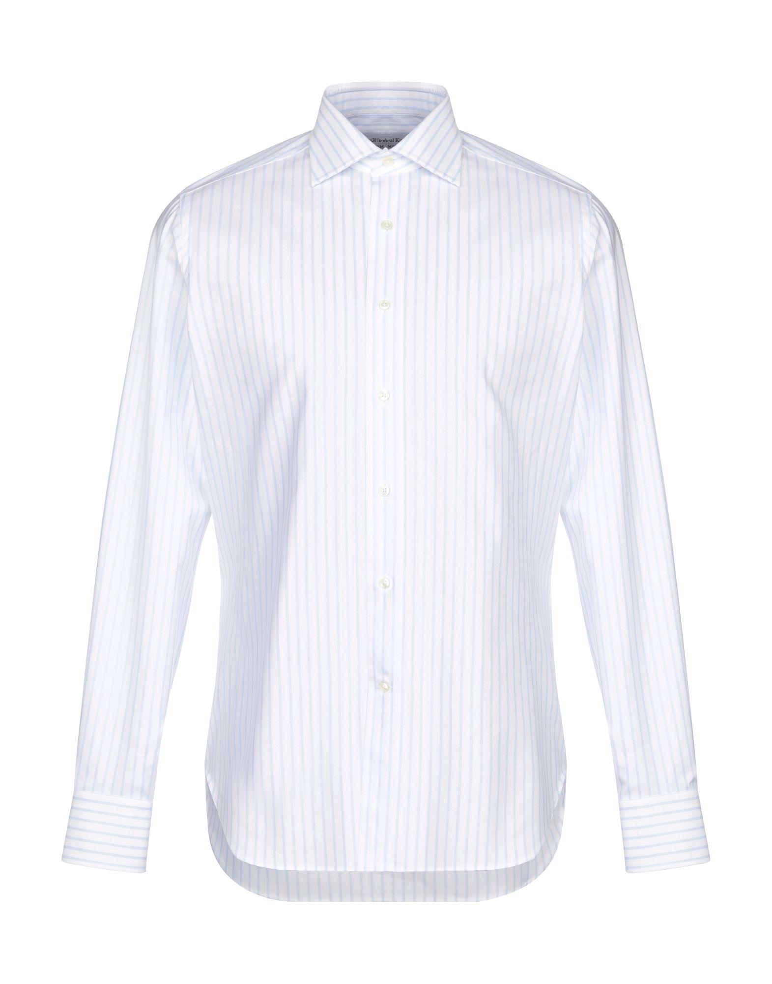 MICHEAL KURRIER Milano Pубашка white 5 milano pубашка
