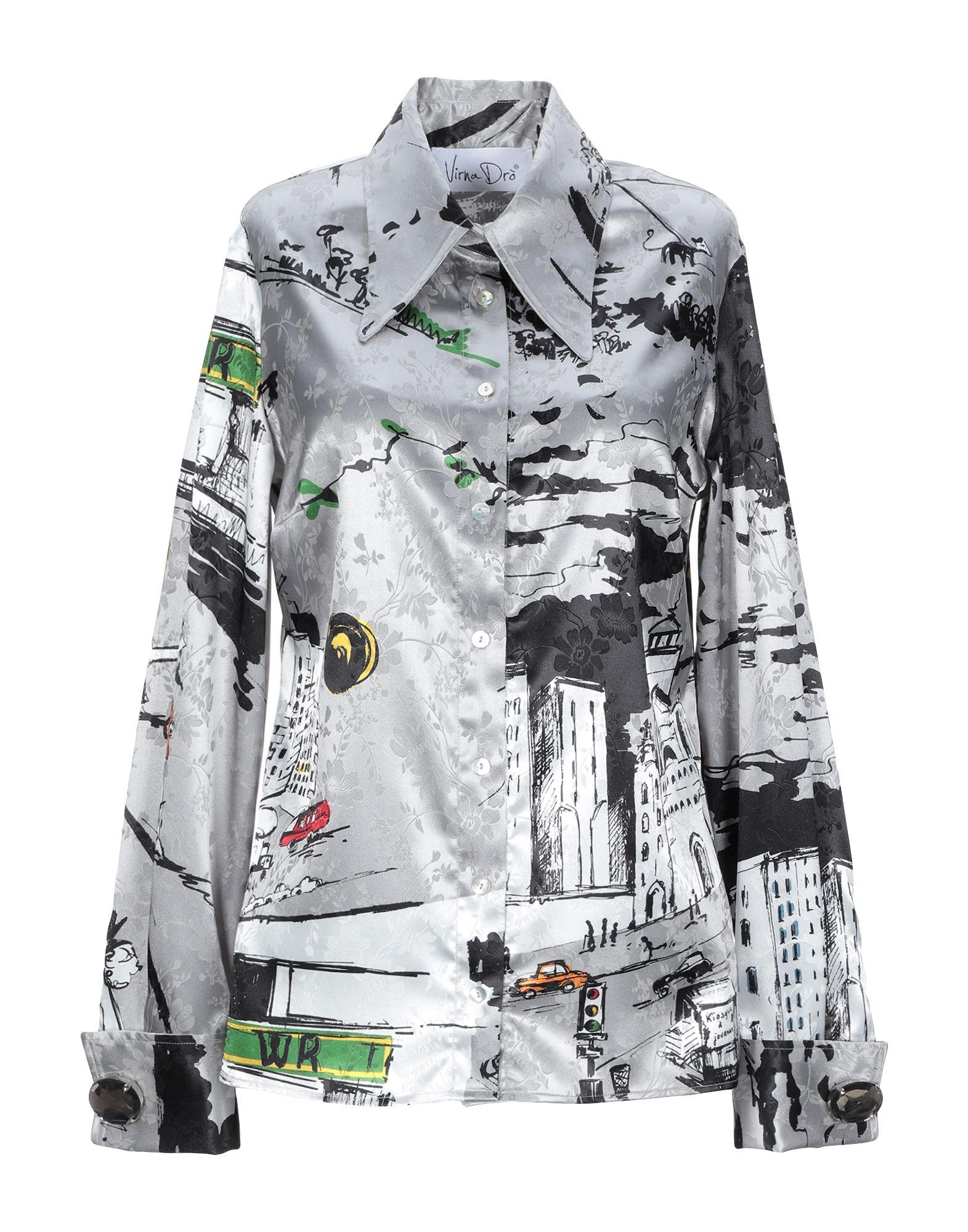 VIRNA DRÒ® Pубашка недорго, оригинальная цена