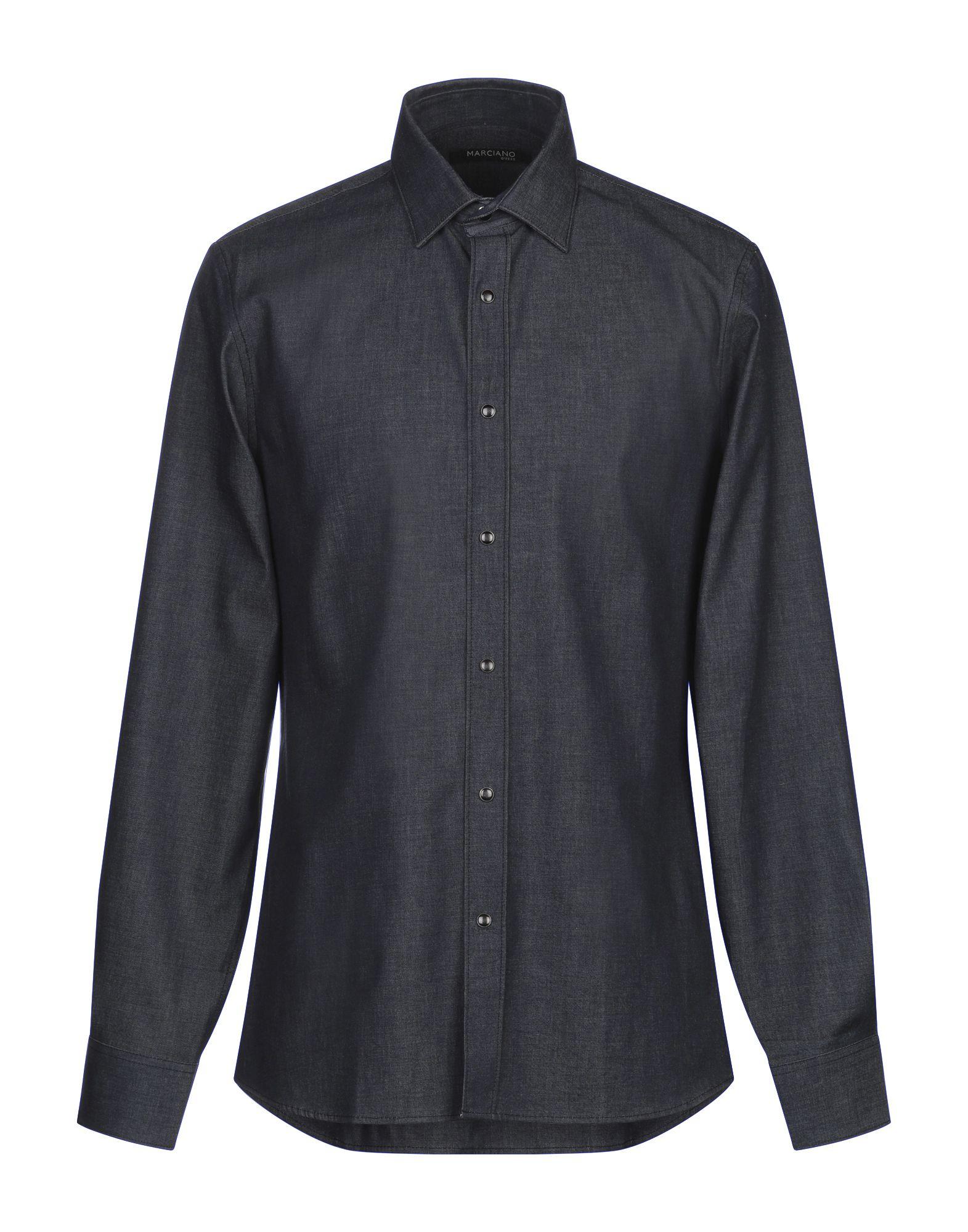 GUESS BY MARCIANO Джинсовая рубашка рубашка джинсовая guess guess gu460ebcfrs9