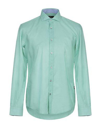 Фото - Pубашка от BOSS BLACK зеленого цвета