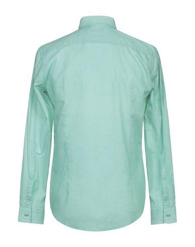 Фото 2 - Pубашка от BOSS BLACK зеленого цвета