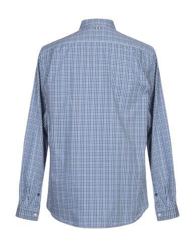 Фото 2 - Pубашка синего цвета