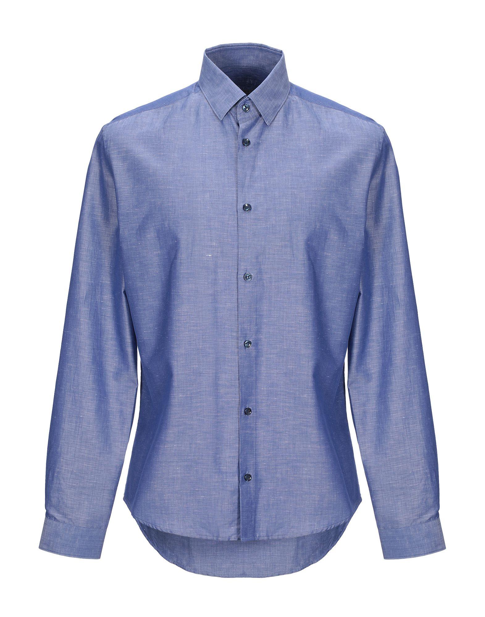 VERSACE COLLECTION Джинсовая рубашка uniel bv 415bks