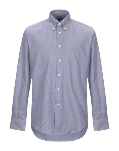 Купить Pубашка от DEL SIENA темно-синего цвета