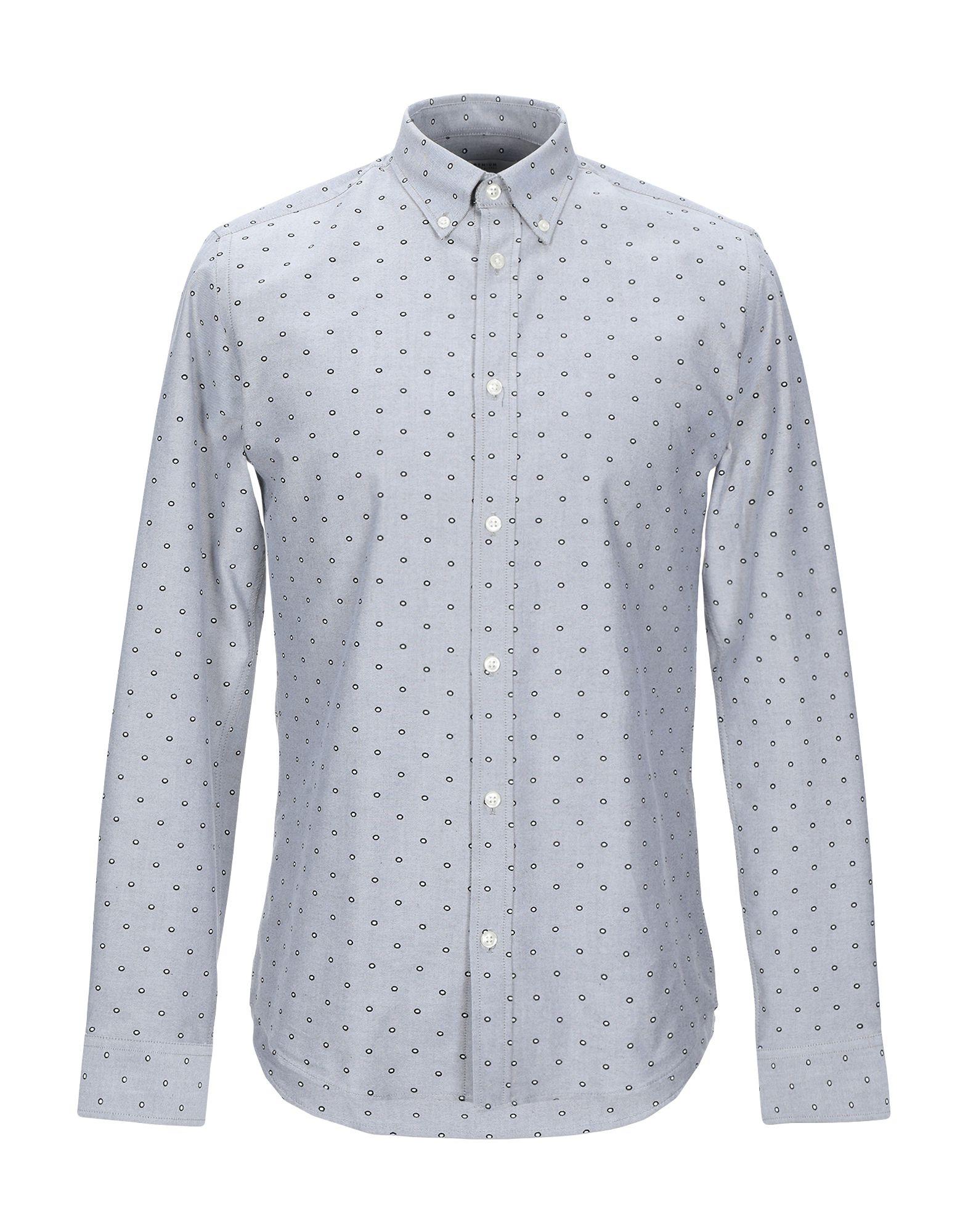 《送料無料》JACK & JONES PREMIUM メンズ シャツ グレー M コットン 100%
