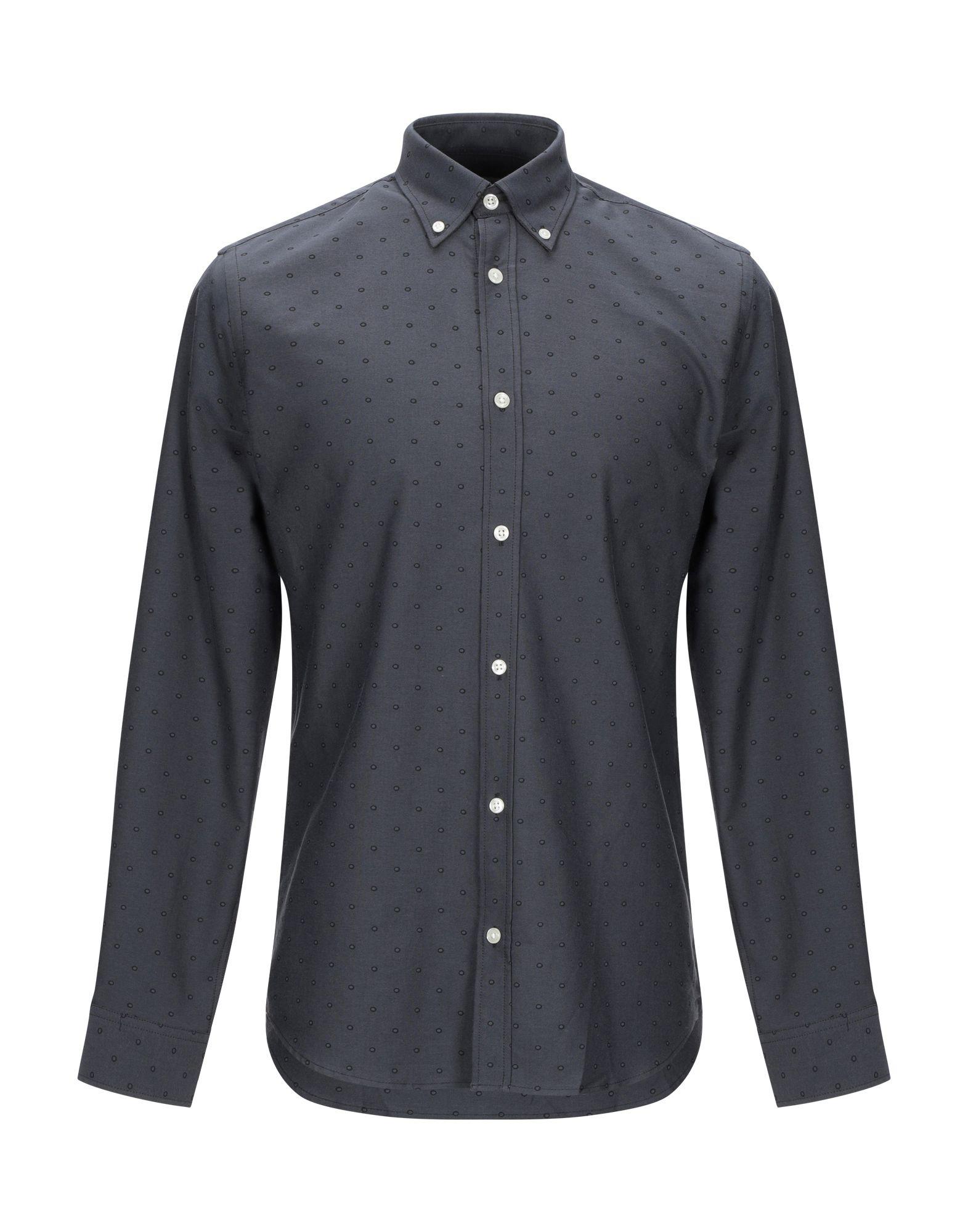 《送料無料》JACK & JONES PREMIUM メンズ シャツ スチールグレー S コットン 100%