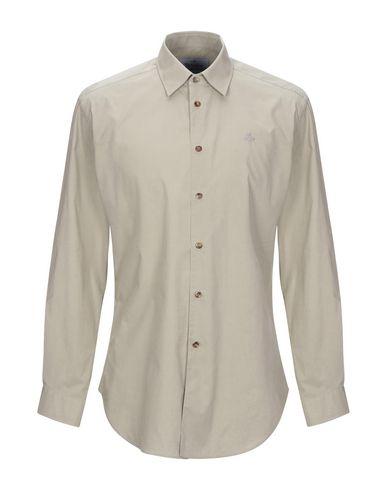 Купить Pубашка от VIVIENNE WESTWOOD MAN светло-серого цвета
