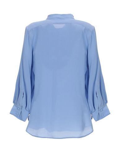 Фото 2 - Pубашка сиреневого цвета