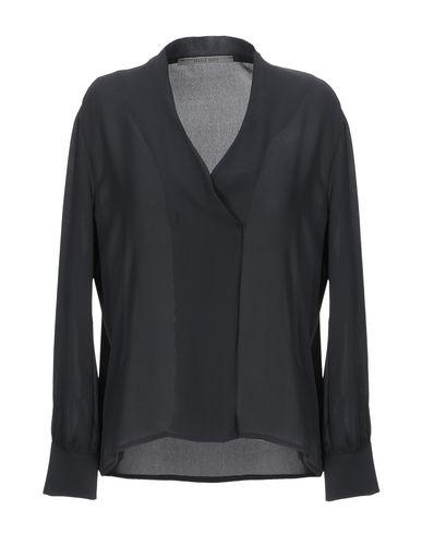 Фото - Женскую блузку ANGELA DAVIS черного цвета