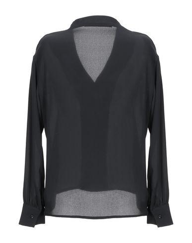 Фото 2 - Женскую блузку ANGELA DAVIS черного цвета