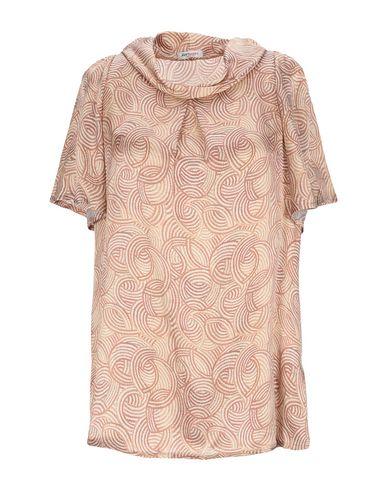 Купить Женскую блузку  коричневого цвета