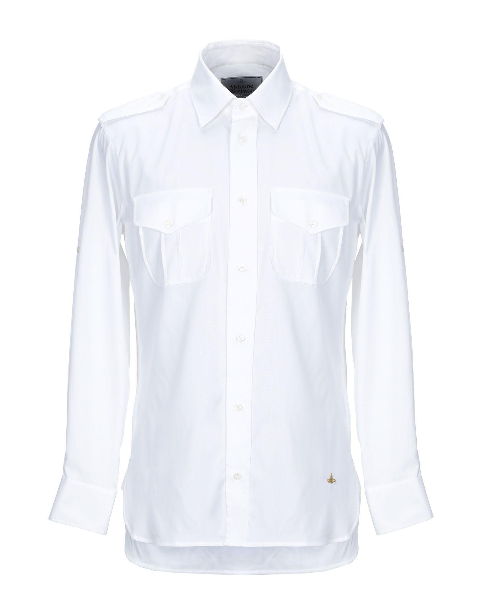 цена VIVIENNE WESTWOOD MAN Pубашка онлайн в 2017 году