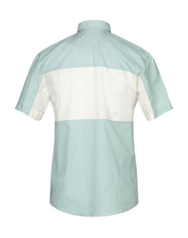 Фото 2 - Pубашка светло-зеленого цвета