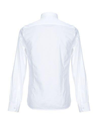 Фото 2 - Pубашка от DSTREZZED белого цвета