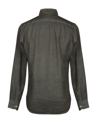 Фото 2 - Pубашка от BROOKSFIELD цвет зеленый-милитари
