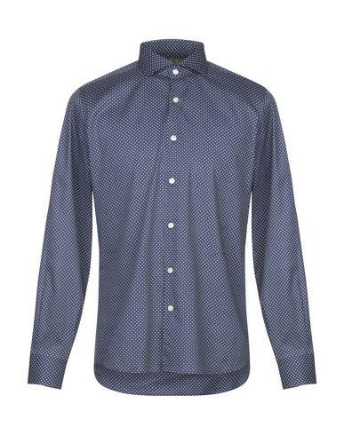 Фото - Pубашка от DOMENICO TAGLIENTE темно-синего цвета