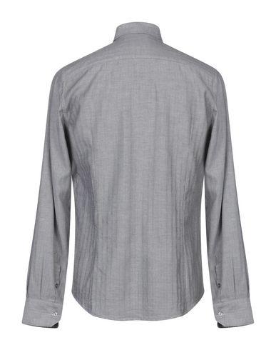 Фото 2 - Pубашка от EN AVANCE серого цвета