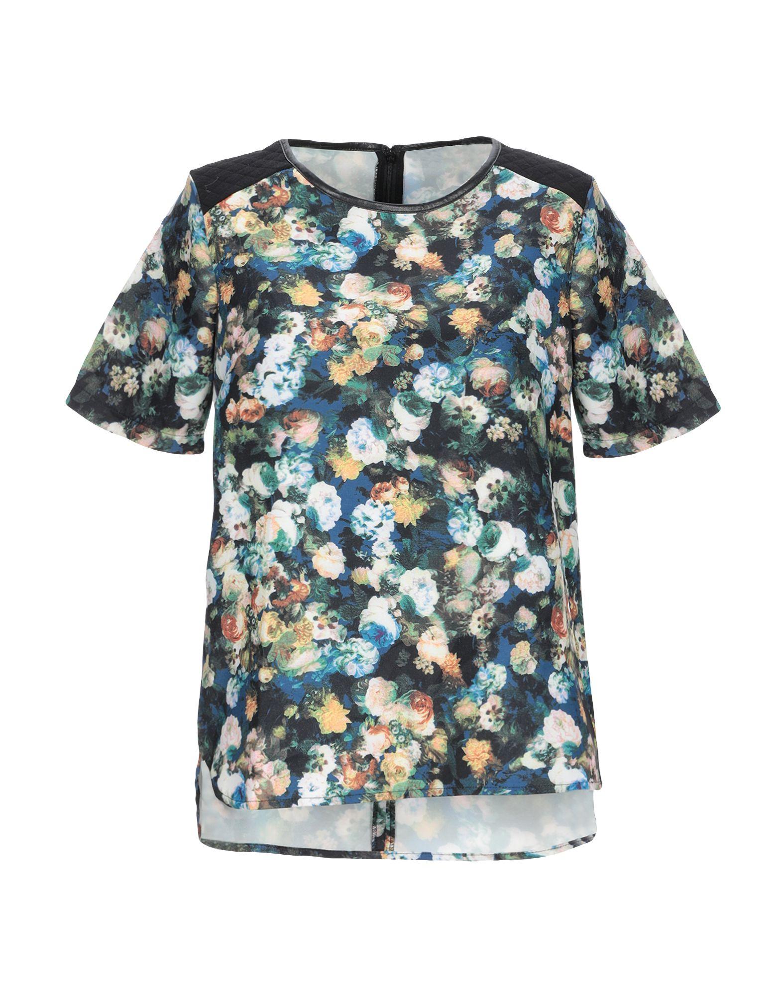 SILVIAN HEACH Блузка блузка женская silvian heach benifato цвет черный синий pga18120bl black navy размер l 46