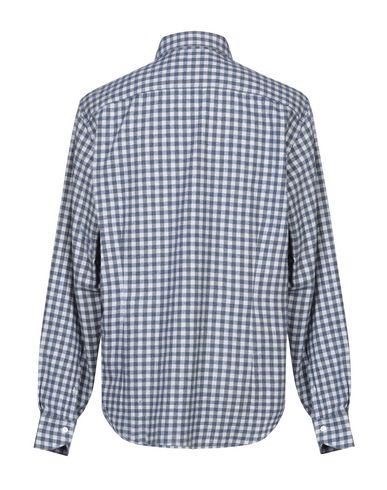 Фото 2 - Pубашка от LORENZINI синего цвета