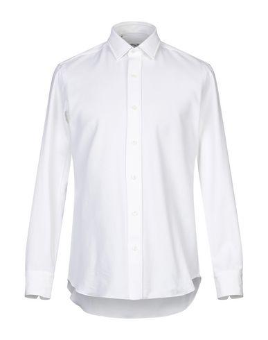 Фото - Pубашка от SALVATORE PICCOLO белого цвета