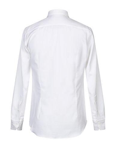 Фото 2 - Pубашка от SALVATORE PICCOLO белого цвета
