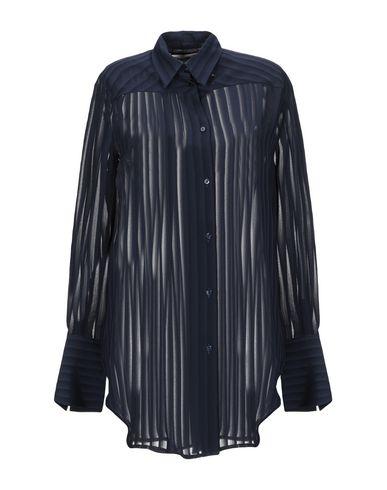 Купить Pубашка от NINEMINUTES темно-синего цвета