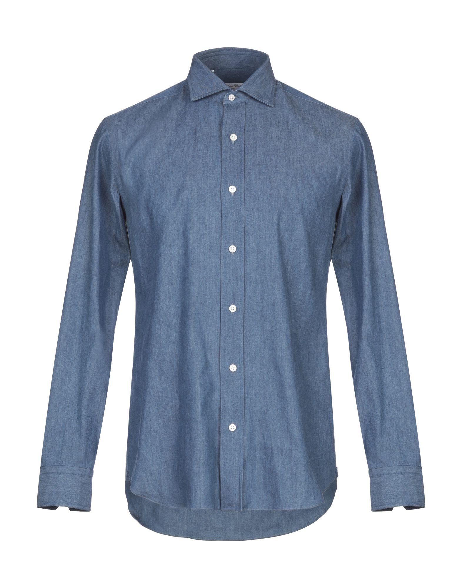 SALVATORE PICCOLO Джинсовая рубашка