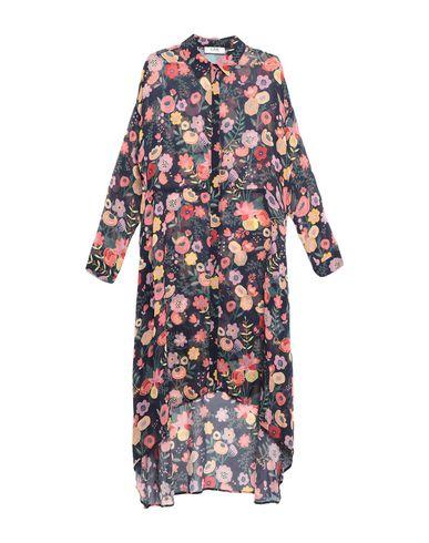 Фото - Платье до колена от LAB ANNA RACHELE темно-синего цвета