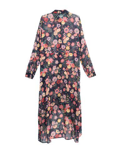 Фото 2 - Платье до колена от LAB ANNA RACHELE темно-синего цвета