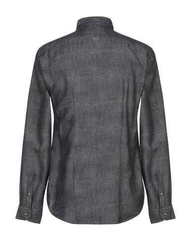Фото 2 - Pубашка от BRIAN DALES черного цвета