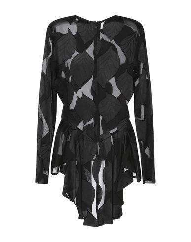 Фото 2 - Женскую блузку MAESTA черного цвета