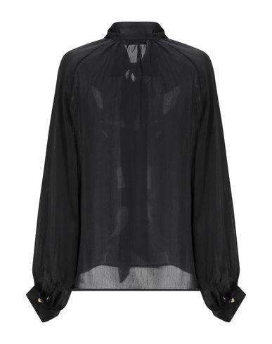 Фото 2 - Женскую блузку MOLLY BRACKEN черного цвета