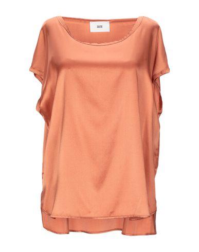 Фото - Женскую блузку SOLOTRE цвет верблюжий