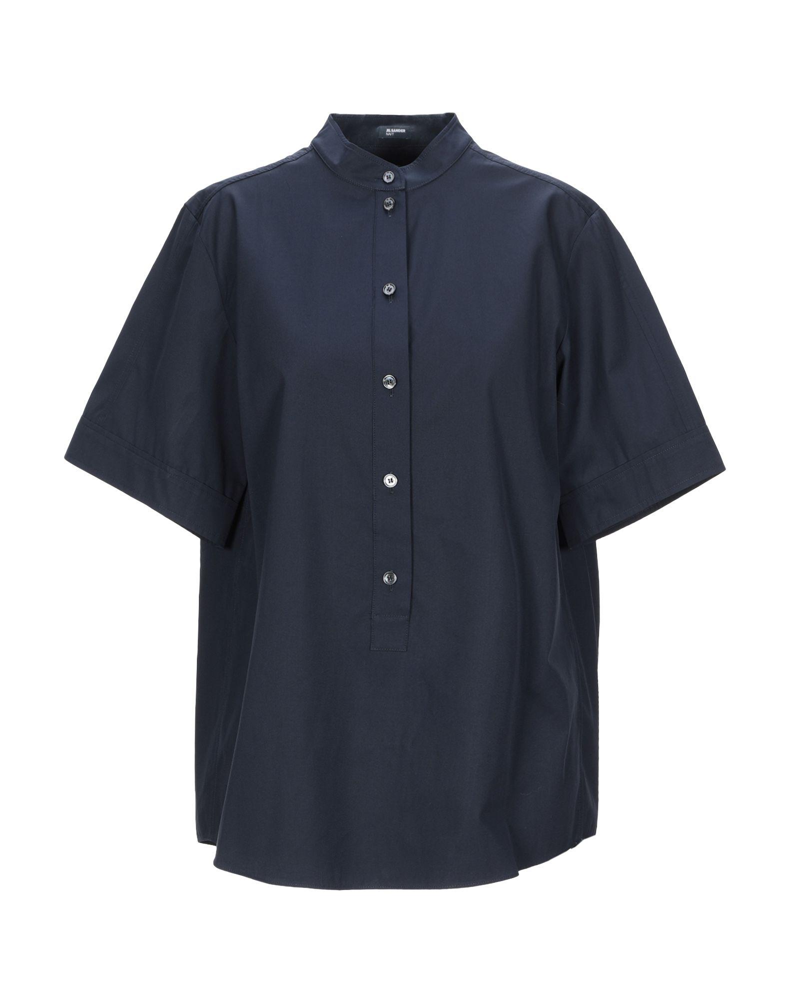 JIL SANDER NAVY Блузка цена и фото