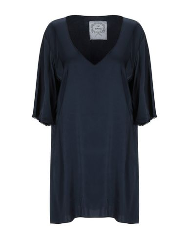 Фото - Женскую блузку PINK MEMORIES темно-синего цвета