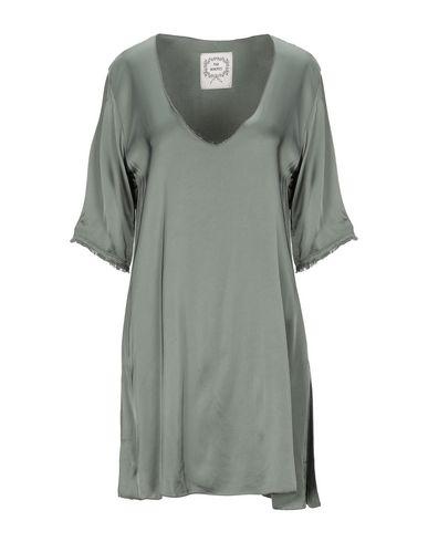 Фото - Женскую блузку PINK MEMORIES цвет зеленый-милитари