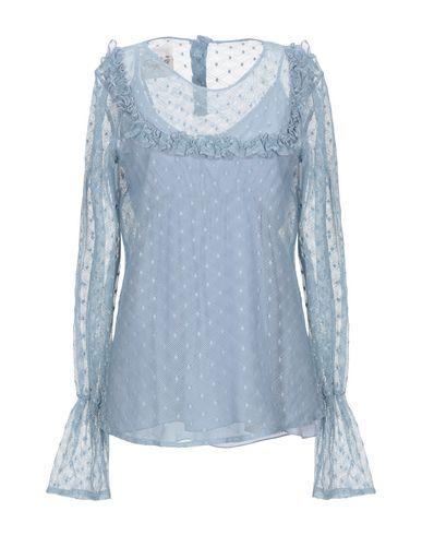 Фото - Женскую блузку PINK MEMORIES пастельно-синего цвета