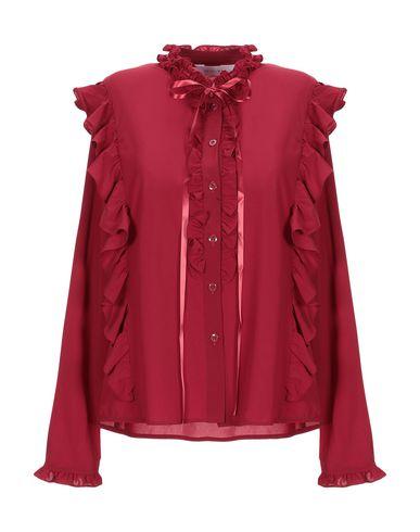 Фото - Pубашка от ANONYME DESIGNERS кирпично-красного цвета