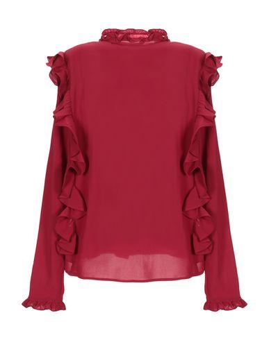 Фото 2 - Pубашка от ANONYME DESIGNERS кирпично-красного цвета
