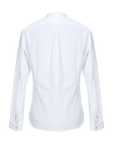 Фото 2 - Pубашка от DNL белого цвета