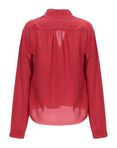 Фото 2 - Pубашка от POMANDÈRE красного цвета