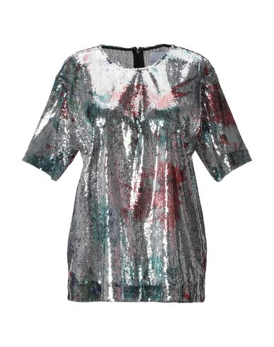 Фото - Женскую блузку  серебристого цвета