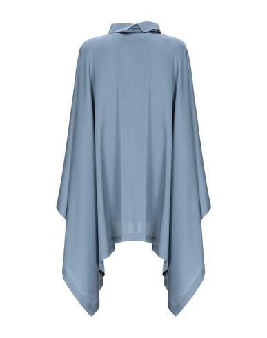 Фото 2 - Женскую блузку LAMBERTO LOSANI грифельно-синего цвета