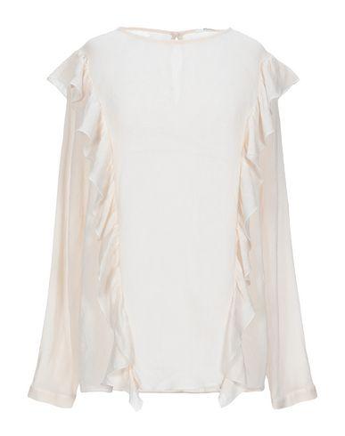 Фото - Женскую блузку POMANDÈRE цвет слоновая кость